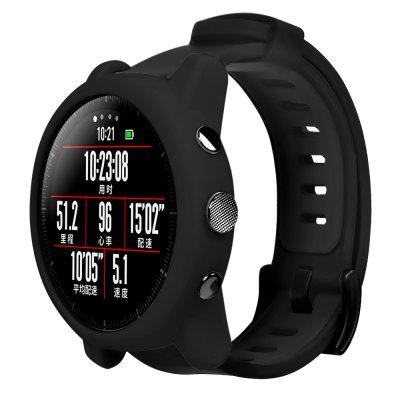 Colorful Protector Frame Silicone Case For AMAZFIT Stratos 2/2S