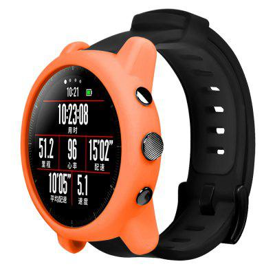 Colorful Protector Frame Silicone Case For Huami Amazfit Stratos 2/2S Watch