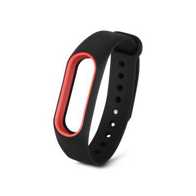 Double Color Silicone Wrist Strap For Xiaomi Mi Band 2 Smart Watch