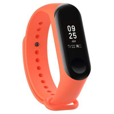 Minismile Replacement Sports Anti-lost Silicone Wristband for Xiaomi Mi Band 3