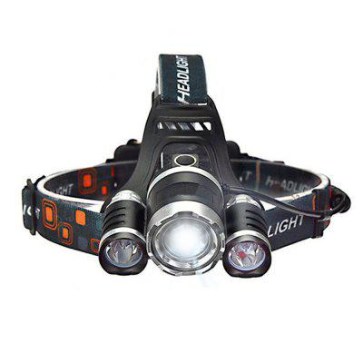 Durable Nice 15000LM T6 Flashlight Rechargeable Waterproof Sensor LED Headlight