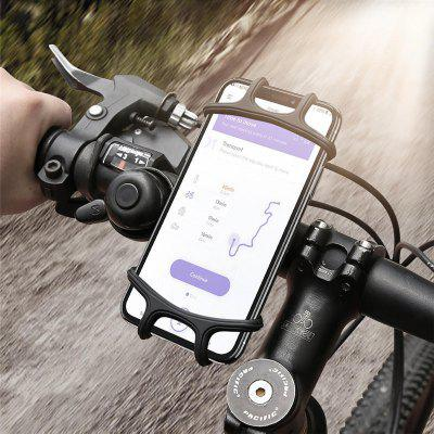 Elastic Wear-resistant Silicone Bike Bicycle Handlebar Holder Mount