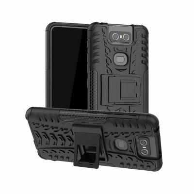 Protective Phone Case with Holder for Asus Zenfone 6 ( ZS630KL )