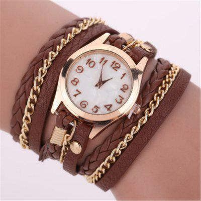 reebonz Women Fashion Leisure Hand-woven Quartz Watch