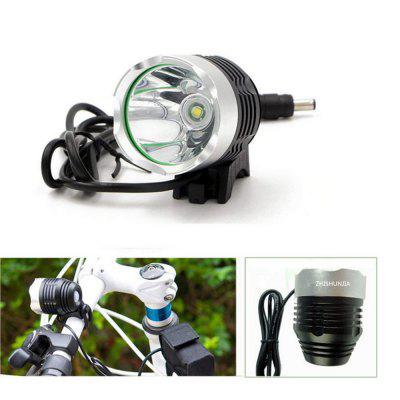 ZHISHUNJIA 1200LM Ultra-bright 4-mode CREE XML T6 Bicycle Lamp LED Headlamp