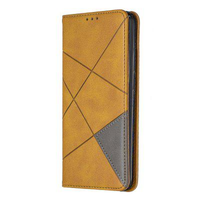 Splicing Anti-Fall Protective Leather Phone Case for Redmi Note 7/Note 7 Pro