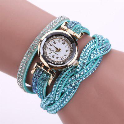 reebonz  Women Fashion Leisure Woven Quartz Watch