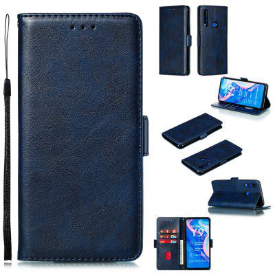 Calf Pattern Protective Sheath Purse Phone Case for Huawei Y9 Prime 2019