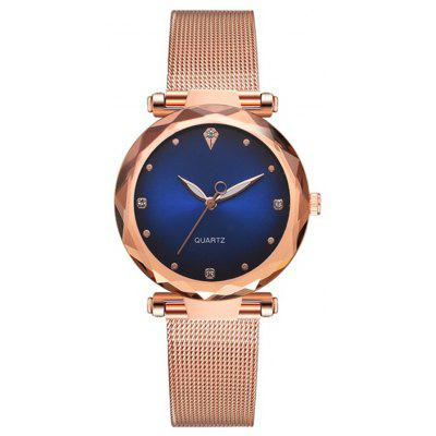 Reebonz Luxury Metal Dress Zegarki dla kobiet Simple Clock