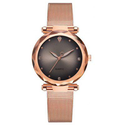 Reebonz Luxury Metal Dress Watches For Women Simple Clock