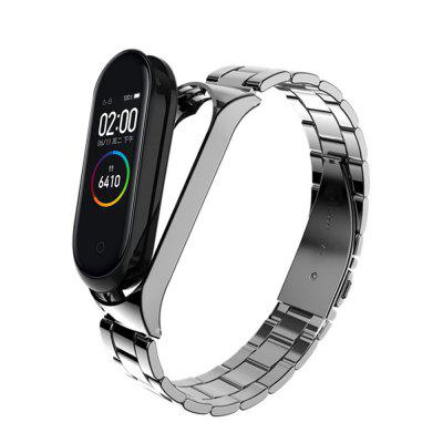 JOFLO Wristband Strap Stainless Steel Watchband for Xiaomi Mi Band 4