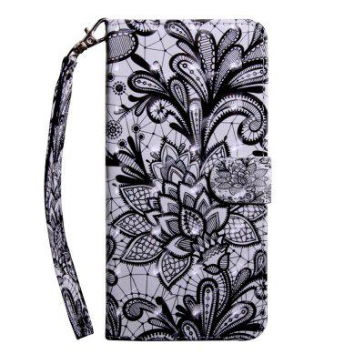 3D Color Painting Wallet Leather Phone Cover for Samsung Galaxy Note 10 Case