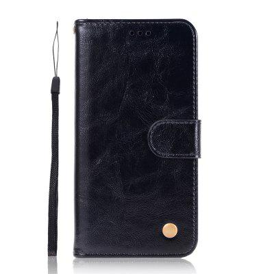 Simplicity Wallet Flip Bracket Leather Phone Case for Huawei P20 Lite 2019 Cover