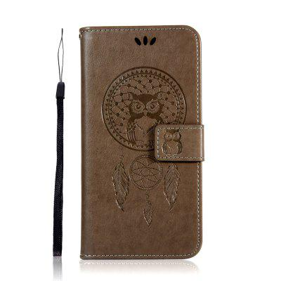 Owl Wind Chimes Flip Wallet Leather Phone Cover for Huawei P20 Lite 2019 Case