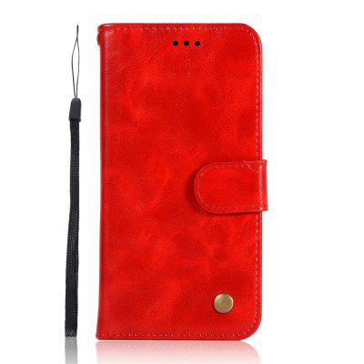 Simplicity Wallet Flip Bracket Leather Phone Case for Xiaomi Redmi 7A Cover