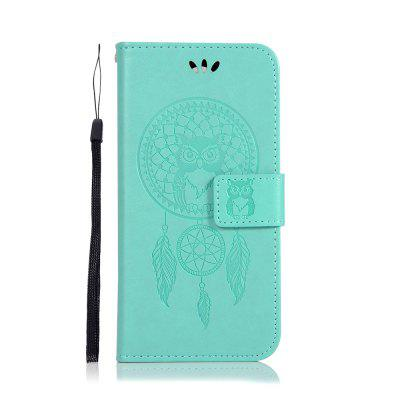 Owl Wind Chimes Flip Wallet Leather Phone Cover for OnePlus 7 Case