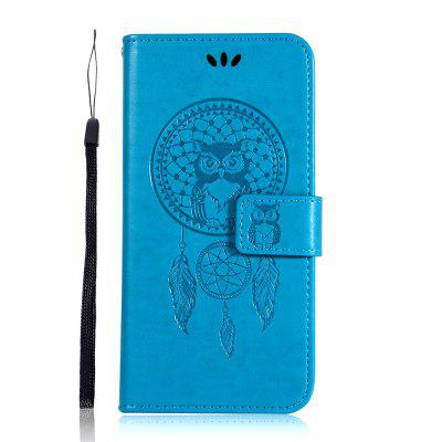 Owl Wind Chimes Flip Wallet Leather Phone Cover for Samsung Galaxy A10E Case, Purple;rose gold;brown;gray;blue;gold;black;green