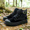 New  Boots England Winter Desert Snow Retro Men'S Tooling Shoes - BLACK