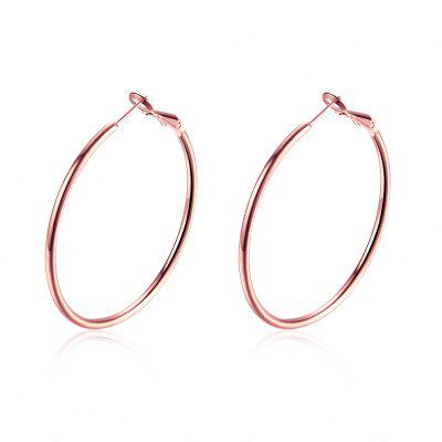 Environmental Protection Circular Clip Earrings