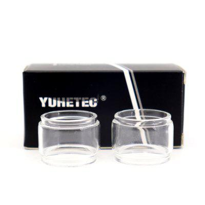 YUHETEC Replacement Bulb Glass Tube for GeekVape AMMIT MTL 2PCS