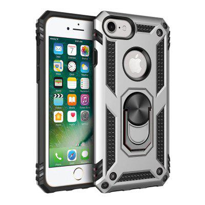Ring Buckle Kickstand Armor Phone Case voor iPhone 6 / 6S / 7/8