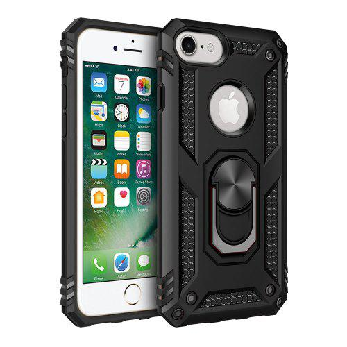 bfd4fd2b1f3235 Ring Buckle Kickstand Armor Phone Case for iPhone 6 / 6S / 7 / 8   Gearbest