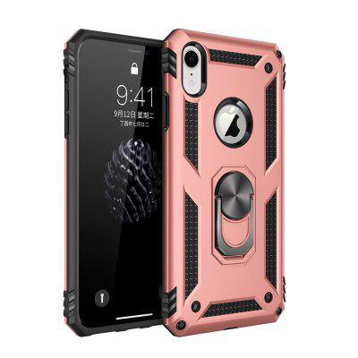 Ring Buckle Kickstand Armor Phone Case for iPhone XR