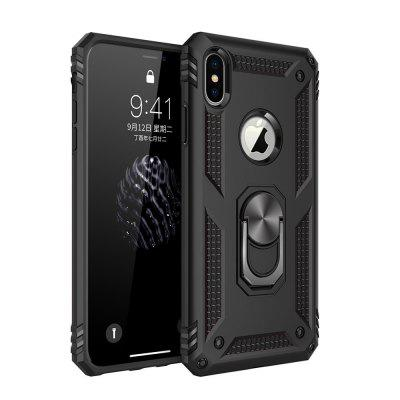 Ring Buckle Kickstand Armor Phone Case for iPhone XS Max