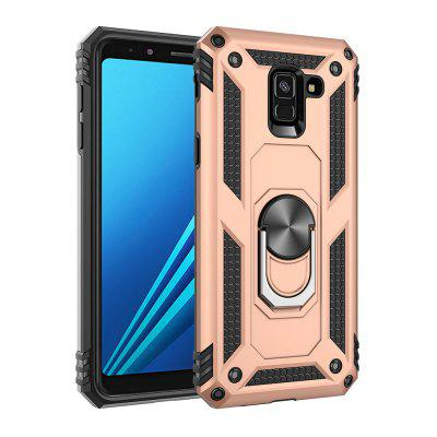 Ring Buckle Kickstand Armor Phone Case for Samsung Galaxy A8 2018