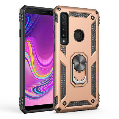 Ring Buckle Kickstand Armor Phone Case voor Samsung Galaxy A9 2018