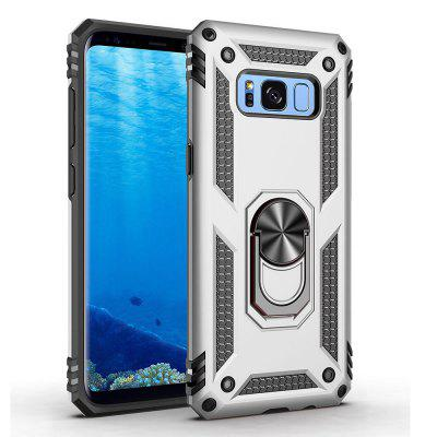 Ring Buckle Kickstand Armor Phone Case voor Samsung Galaxy S8