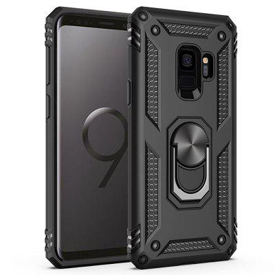 Ring Buckle Kickstand Armor Phone Case voor Samsung Galaxy S9