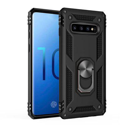 Ring Buckle Kickstand Armor Phone Case for Samsung Galaxy S10