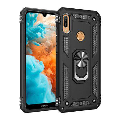 Ring Buckle Kickstand Armor Phone Case for Huawei Y6 2019