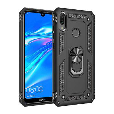 Ring Buckle Kickstand Armor Phone Case for Huawei Y7 2019 / Y7 Prime 2019