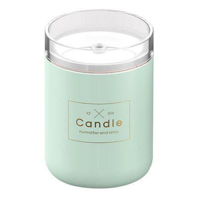 280ML Air Humidifier Romantic Candle Essential Oil Diffusion USB Atomization