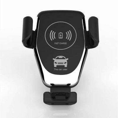Car Charger Wireless Sensor Automatic Fast Charging Mobile Phone Holder Stand