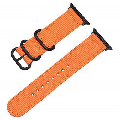 Nylon Canvas Watch Strap for Apple Watch 4 3 2 1 Series 38/40mm 42/44mm