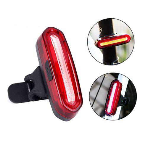 1 Pc Bike Bicycle V Type Brake Red Signal Light Reflectors Warning Accessories