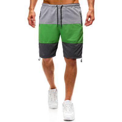 Shorts de sport pour hommes Splicing Design Casual Shorts