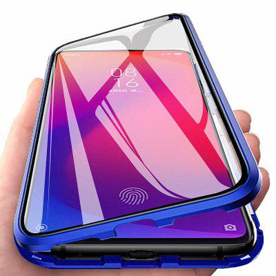 Double Sided Glass Metal Magnetic Phone Case for Xiaomi Mi 9T/9T Pro
