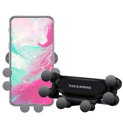 360 de grade rotație Gravity Suport auto Mount Air Vent Stand telefon pentru iPhone
