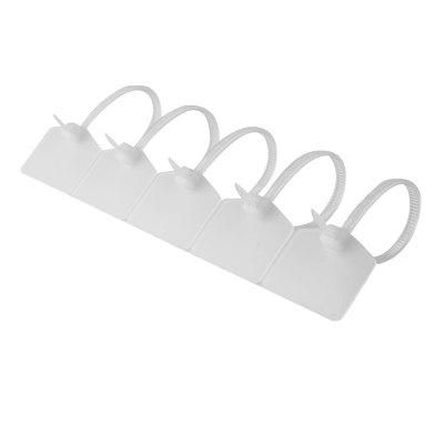 Nylon Zip Ties  Tagss - Self-Locking Free Printable Labels - 4.72 inches