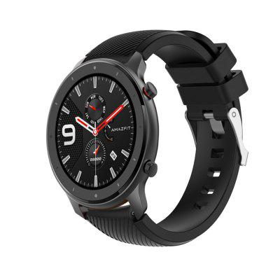 Sport Silicone Strap Watch Band For Amazfit GTR 47MM