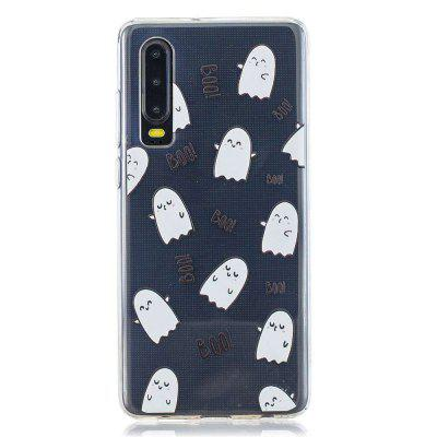 Expression Egg Painted TPU Phone Case for Huawei P30