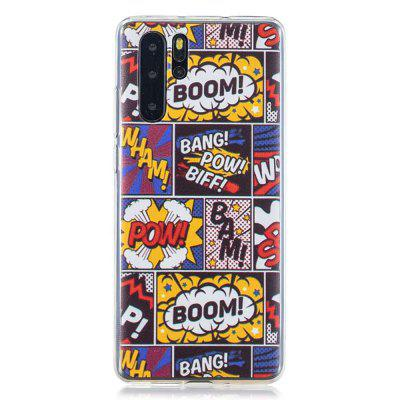 Comic Painted TPU Phone Case for Huawei P30 Pro
