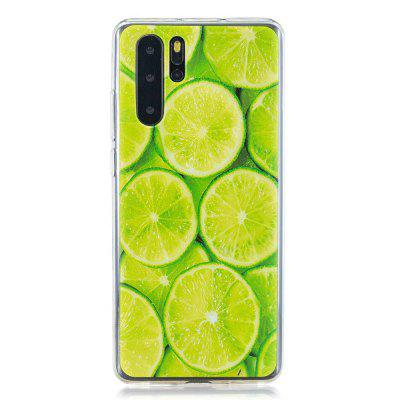 Lime Painted TPU Phone Case for Huawei P30 Pro