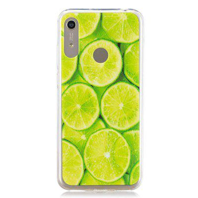 Lime Painted TPU Phone Case for Huawei Y6 2019