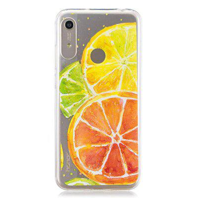 Lemon Painted TPU Phone Case voor Huawei Y6 2019