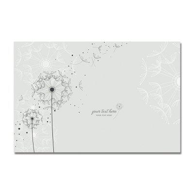 DYC Cartoon Fresh Dandelion Print Art